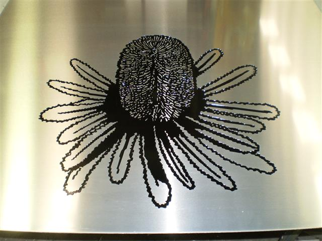 Wolf_Signs_Engraving_Stainless_Steel_Banksia_Logo