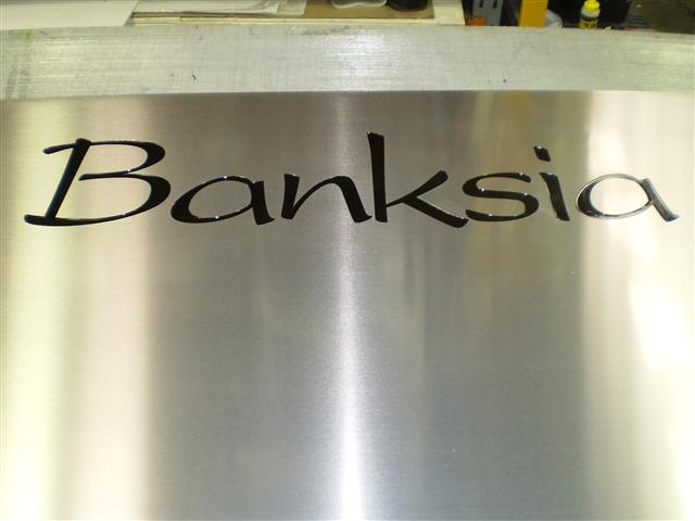 Wolf_Signs_Engraving_Stainless_Steel_Banksia_Text
