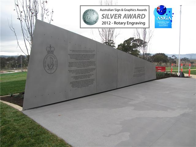 Wolf_Signs_Engraving_Stainless_Steel_Crace_Hilltop_Award_A